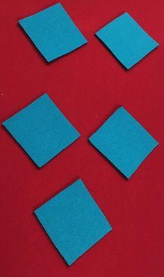 Red MagnaCu Sheet w/Turquoise Squares