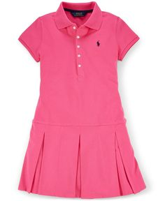 6f1c6a30c Ralph Lauren Girls  Pleated Polo Dress   Reviews - Dresses - Kids - Macy s.  Dresses OnlinePeplumRalph LaurenBaby ...