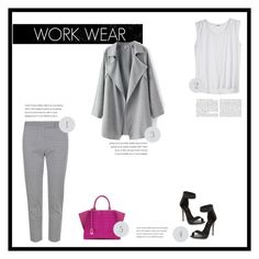 """work wear"" by alessiaerculiani ❤ liked on Polyvore featuring Fendi"