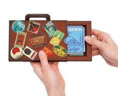 Bagagelabels - Luggage Labels World Edition | Luckies | 5060146591263 | Reisboekwinkel De Zwerver