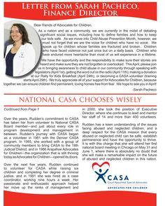 CASA Speak Spring 2013 Pg. 2