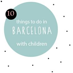 Barcelona with children, 10 things to do. Planning a trip to Barcelona with kids? Stuff To Do, Things To Do, Barcelona, Children, Kids, Picnic, Spain, Holidays, How To Plan