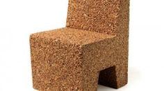 """Corque"" brand cork chair"
