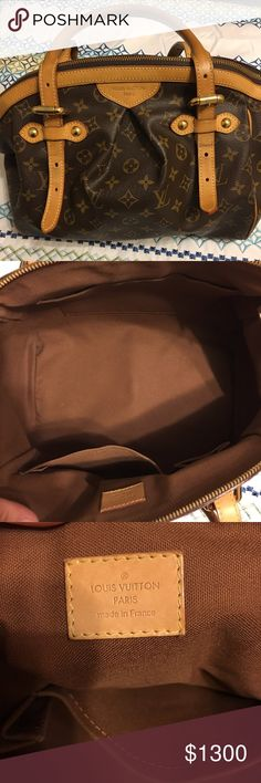 Authentic Louis Vuitton Tivoli GM EUC This bag is in excellent condition.  Very clean inside and out.  Small spot on the leather handle where the buckle rubbed. Date code and heat stamp are pictured.  No box or dust cover included. Louis Vuitton Bags Shoulder Bags