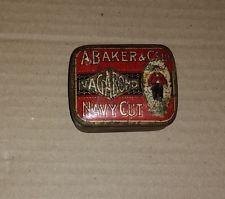 A. Baker & Co., LTD Vagabond Navy Cut vintage tobacco tin