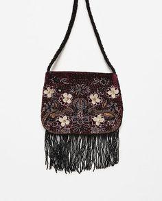 Image 1 of VELVET BAG from Zara