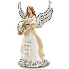 Friends are Like Angels Musical Figurine