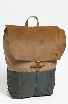 Would've gotten this if they had it in store.  Love the attention to detail in the tribute to California.  The buckles on the shoulder straps and flap are a nice divergence from typical zippers and stitches.  Overall unique design.  Again, neutral colors.  Goes with everything.