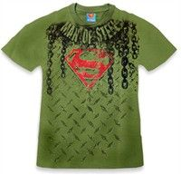 """BEWILD: Superman """"Steel"""" T-Shirt Buy Now $21.99 Find at Faearch"""