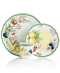 Villeroy & Boch Dinnerware, French Garden New Collection - Casual Dinnerware - Dining & Entertaining - Macy's