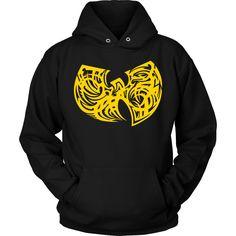 Wu-Tang - Tribal Crest n Unisex Hoodie  #Unbranded #Hoodie