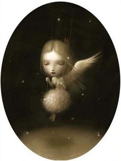 oh i fell inlove with this nicoletta ceccoli illustration! nice idea for a tat :)