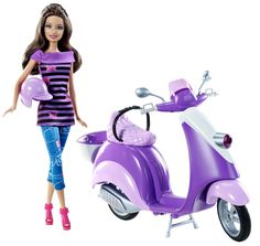 Teresa wants to ride along with her friend Barbie too! #BarbiesFavorites