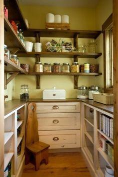 true walk-in pantry...with window!