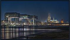 Köln an Nacht