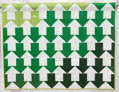Profits & Losses by Gina Pina, 2014 | Modern Quilting Gallery | The Modern Quilt Guild | themodernquiltguild.com