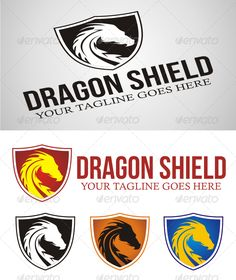 Realistic Graphic DOWNLOAD (.ai, .psd) :: http://jquery-css.de/pinterest-itmid-1005323426i.html ... Dragon Shield Logo ...  dragon, fast, head, masculine, protector, safe, security, shield, simple, smart, strong  ... Realistic Photo Graphic Print Obejct Business Web Elements Illustration Design Templates ... DOWNLOAD :: http://jquery-css.de/pinterest-itmid-1005323426i.html