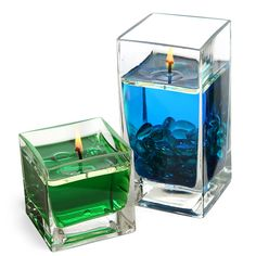 ThinkGeek :: H2O Instant Water Candle Kit