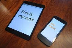 iPad Mini + LG Nexus 4: good combo