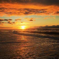 Myrtle Beach | South Carolina | Sunrise | What a way to start your day! | Photo via Instagram by @mzakraysek