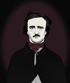 Edgar Allan Poe by thren0dy.deviantart.com on @deviantART