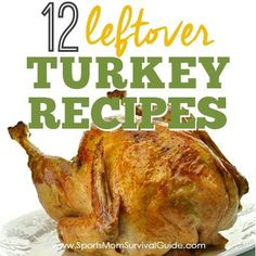 With Thanksgiving on the horizon, we would love to help you plan ahead a bit! You're bound to have leftover turkey and will need a plan as to what to do with it! You can grab one of these these super delicious 12 Leftover Turkey Recipes. When you are grocery shopping for your Thanksgiving dinner ...