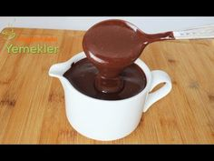 New Cake : How to Make Chocolate Sauce Chocolate Decorations, Chocolate Desserts, Turkish Sweets, New Cake, Turkish Recipes, How To Make Chocolate, Beautiful Cakes, Food Pictures, Deserts