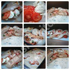 GEFÜLLTE HÄHNCHENBRUST MIT TOMATEN UND MOZZARELLA Rezept: http://babsiskitchen-foodblog.blogspot.de/2016/09/gefullte-hahnchenbrust-mit-tomaten-und.html