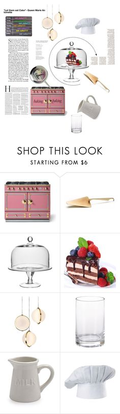 """Let Them Eat Cake!"" by stephanieyves ❤ liked on Polyvore featuring interior, interiors, interior design, home, home decor, interior decorating, Williams-Sonoma, William Yeoward, Baroncelli and JLA Home"
