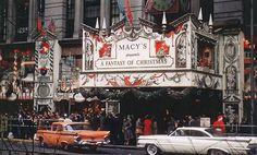 Macy's 'A Fantasy Of Christmas', New York City,1959.  RDNY.com - No Fee…