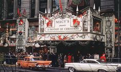 Macy's 'A Fantasy Of Christmas', New York City, 1959.  RDNY.com - No Fee…