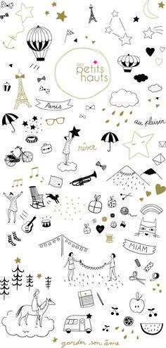 Space Doodles, Random Doodles, Star Doodle, Bullet Journal August, Doodle Baby, Panda Illustration, Lara Jean, Doodle Drawings, Cute Drawings
