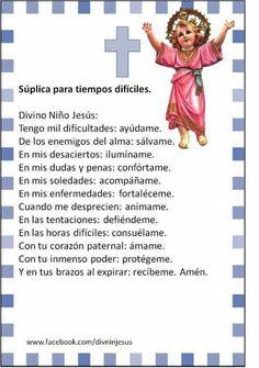 Oracion para situaciones deficiles
