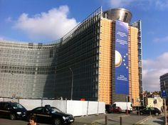 The European Commission Berlaymont building