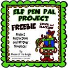 Holiday Elf Pen Pal Project  I hope you and your students enjoy this FREE Elf Pen Pal Writing Project! It is a little something that I hope will be a fun way to help you keep students motivated, on task and excited for the upcoming holidays.  Kids love Elves.
