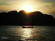 de @vipavi_ -  #atardecer en #Tailandia #Asia by castillayleontb