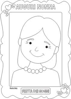 Risultati immagini per festa dei nonni disegni da colorare