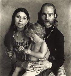 Irving Penn - Hippie Family, 1967
