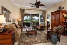Designer ceiling fans and lighting, window coverings and plantation shutters.
