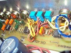 Amplificador de contra baixo completo 150wrms