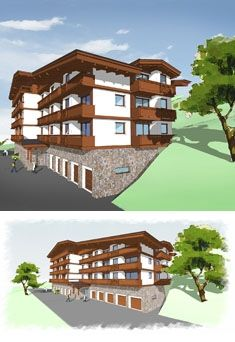 Hotel Donovaly, architecture by Artlandia