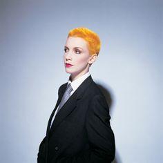Annie Lennox. Portrait artist