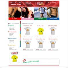 Onlineshop Drucklust / Leistungen: Technische Umsetzung / Techniken: xt:commerce, PHP, Javascript, XHTML, CSS