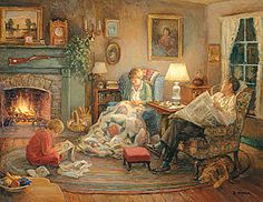 Lee Stroncek Artwork | family circle designed by lee stroncek puzzle size 1000 piece 35 x 27 ...