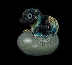 "WINDSTONE EDITIONS ""BLACK SEA ""HATCHING DRAGON , FANTASY ANIMAL STATUE | Collectibles, Fantasy, Mythical & Magic, Dragons | eBay!"