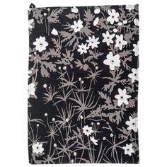 Design Letters' Arne Jacobsen tea towel, Vintage Flower