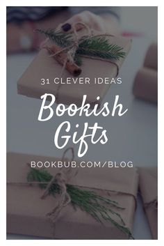 On the hunt for gift ideas for book club? These clever literary gifts make great birthday or hostess gifts for women. #gifts #giftguide #bookworms
