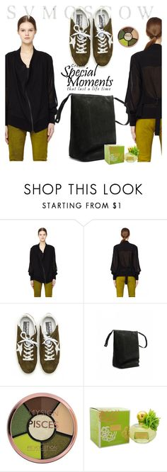 """SVMOSCOW"" by selmir ❤ liked on Polyvore featuring Ann Demeulemeester, Golden Goose and Coach"