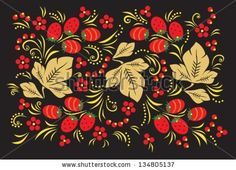 http://image.shutterstock.com/display_pic_with_logo/1033597/134805137/stock-vector--khokhloma-vector-illustration-of-traditional-russian-pattern-eps-non-transparent-elements-134805137.jpg