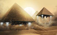 Pyramid Spaceships